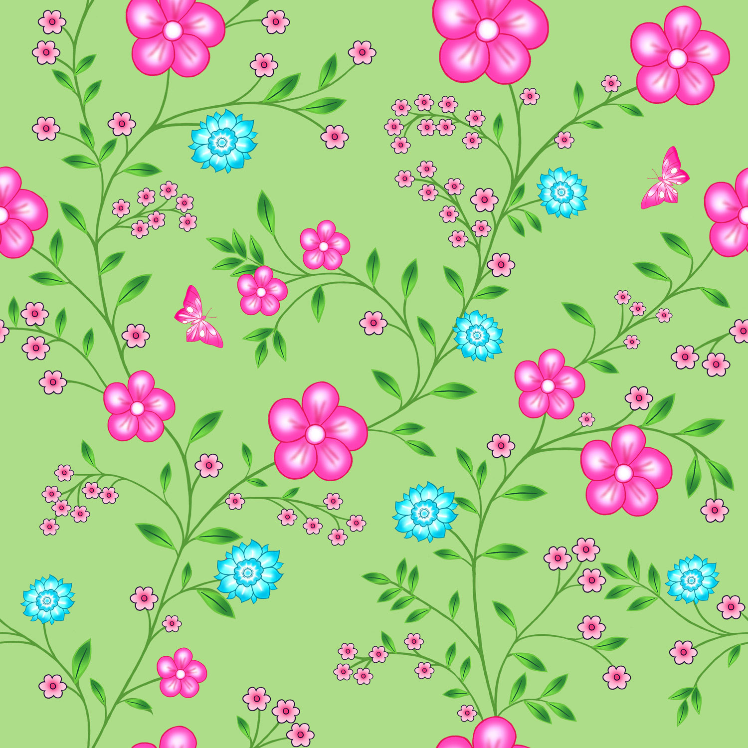 CARPET OF FLOWERS – Design Ref. 2503