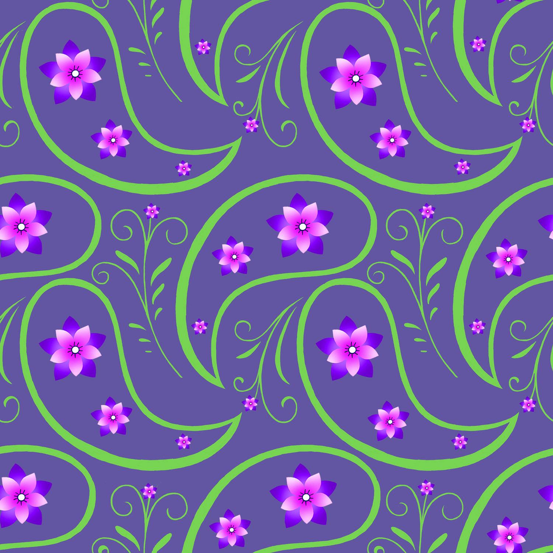 FLORAL PAISLEY – Design Ref. 2513