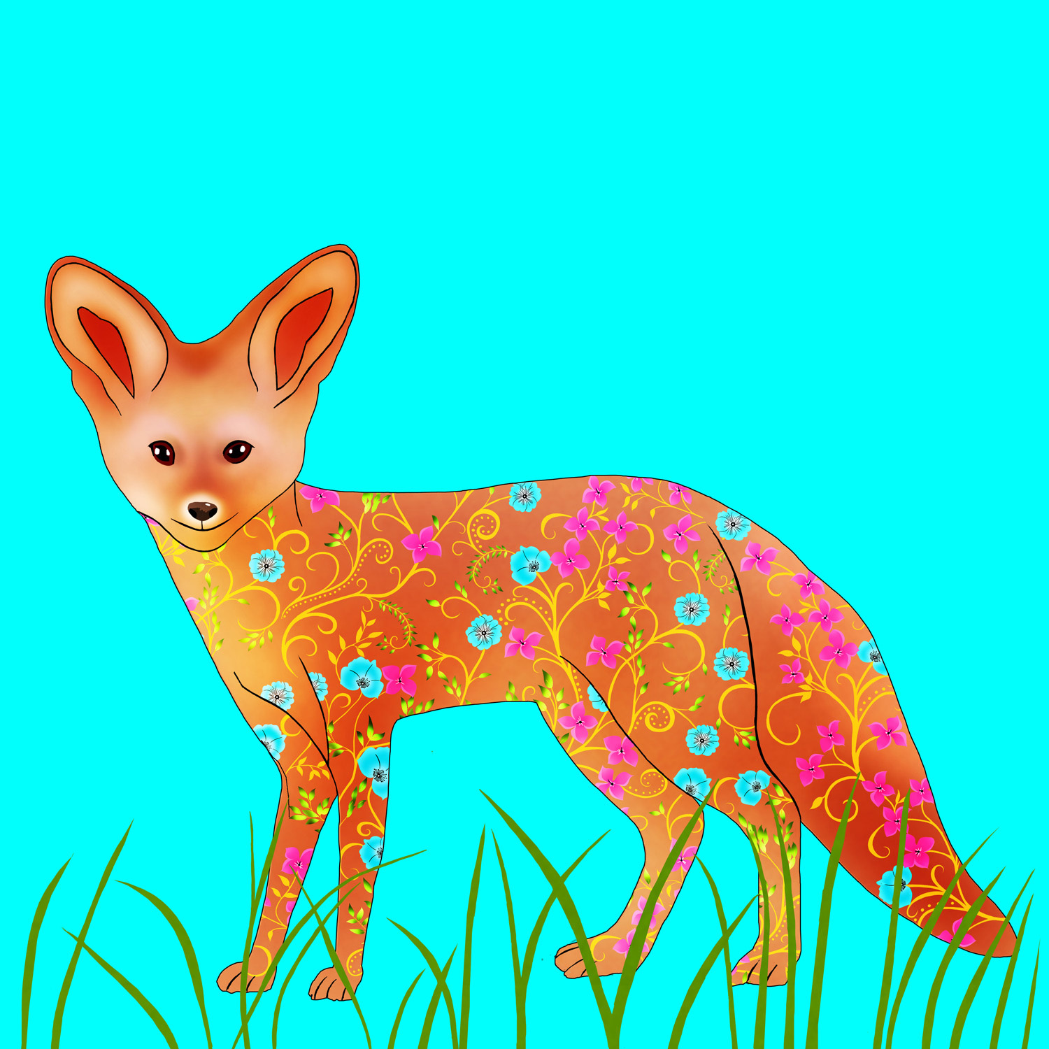 FREDA THE FOX – Design Ref. 2549