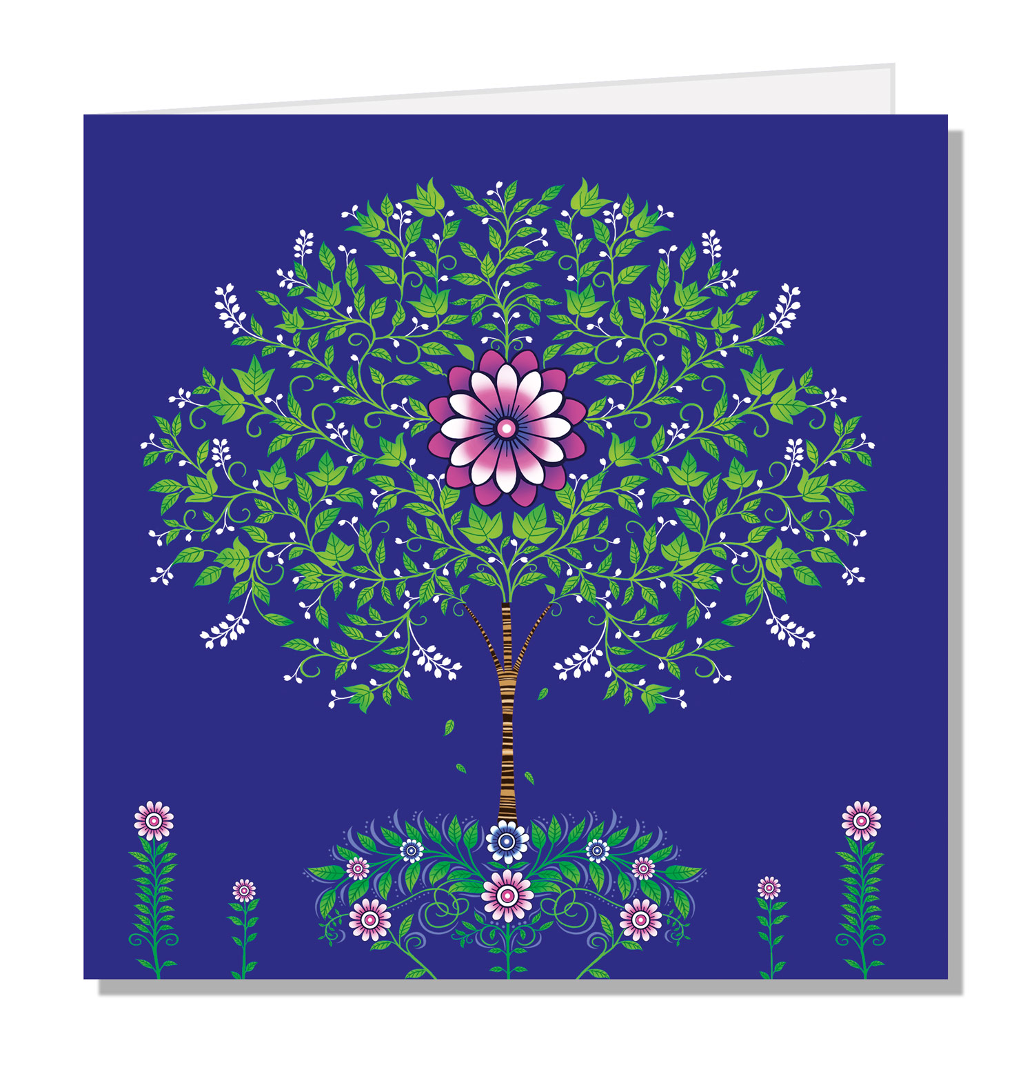 145mm Square Greeting Card