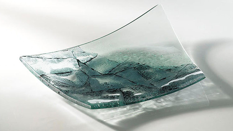 Michelle Keeling- Blue Oxide Platter