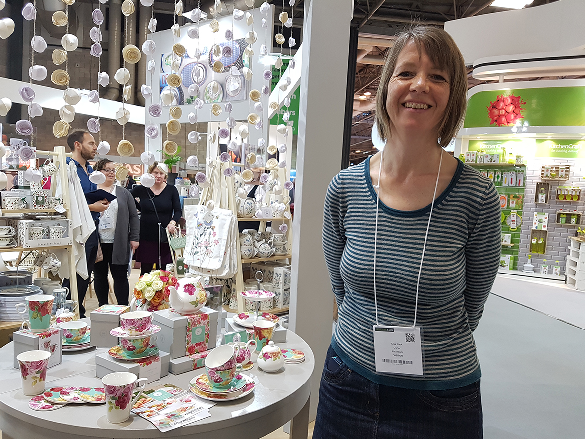 Ailsa Black at Spring Fair 2017