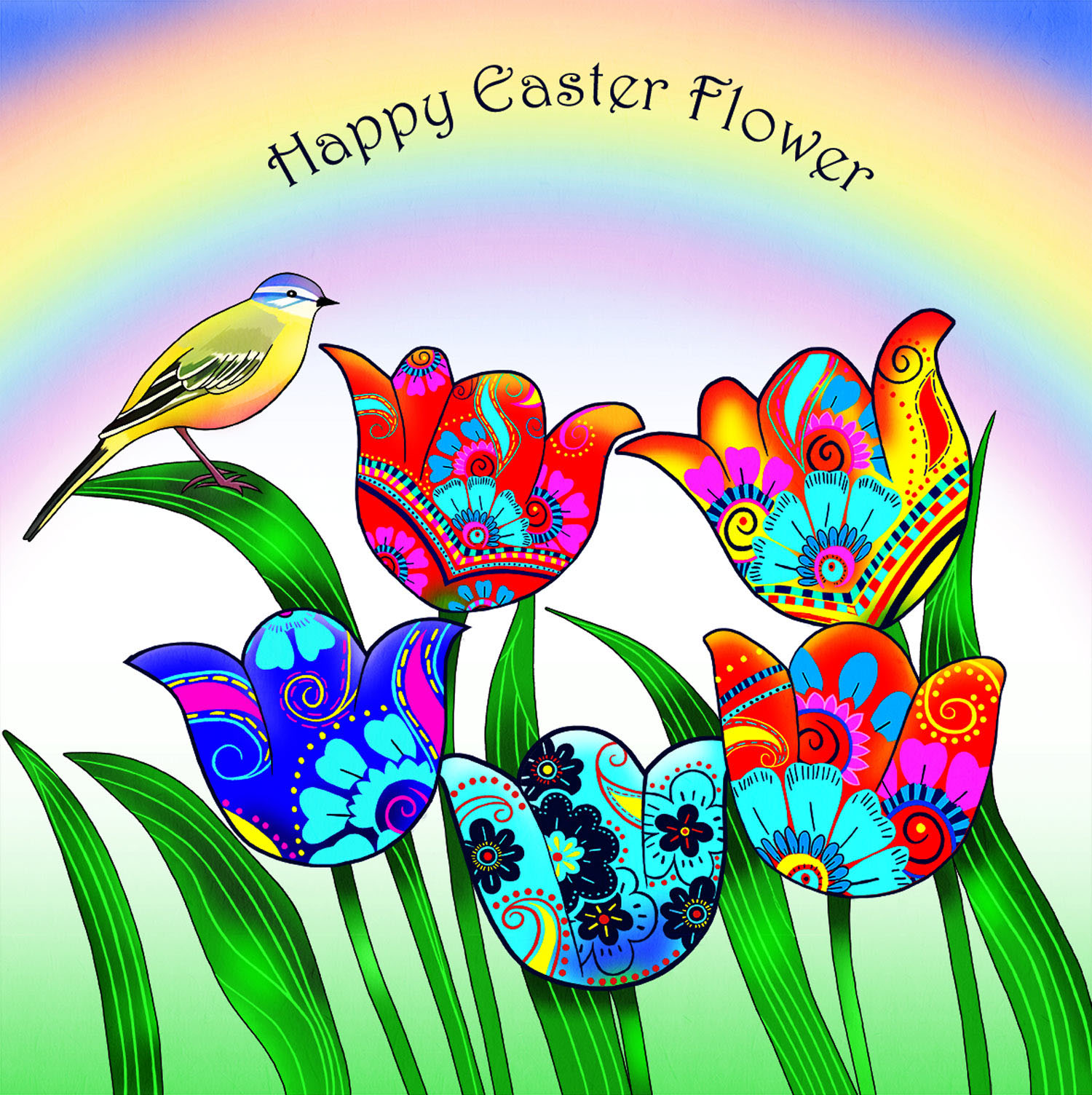 EASTER FLOWER – Design Ref. 2658