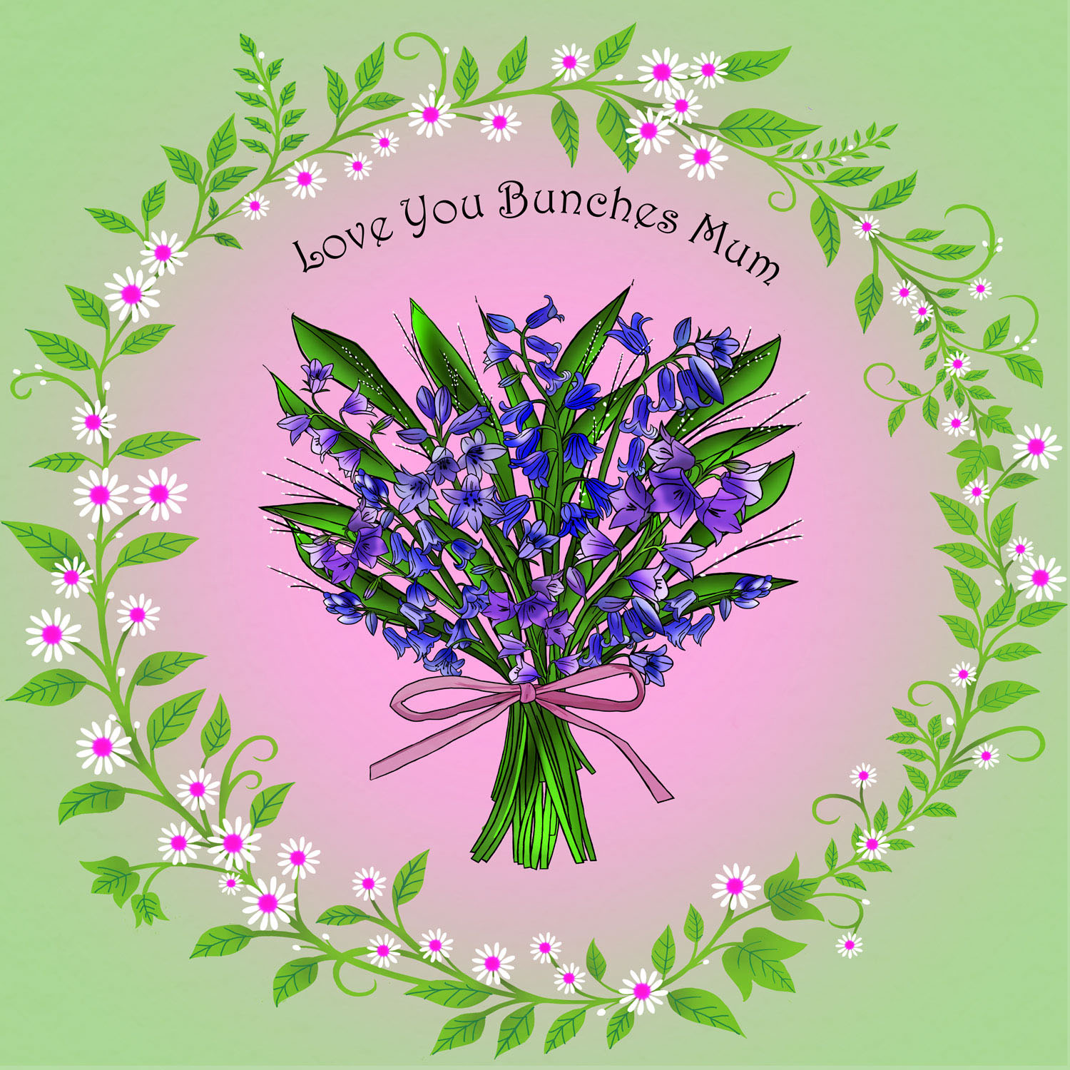 BUNCHES MUM – Design Ref. 2662