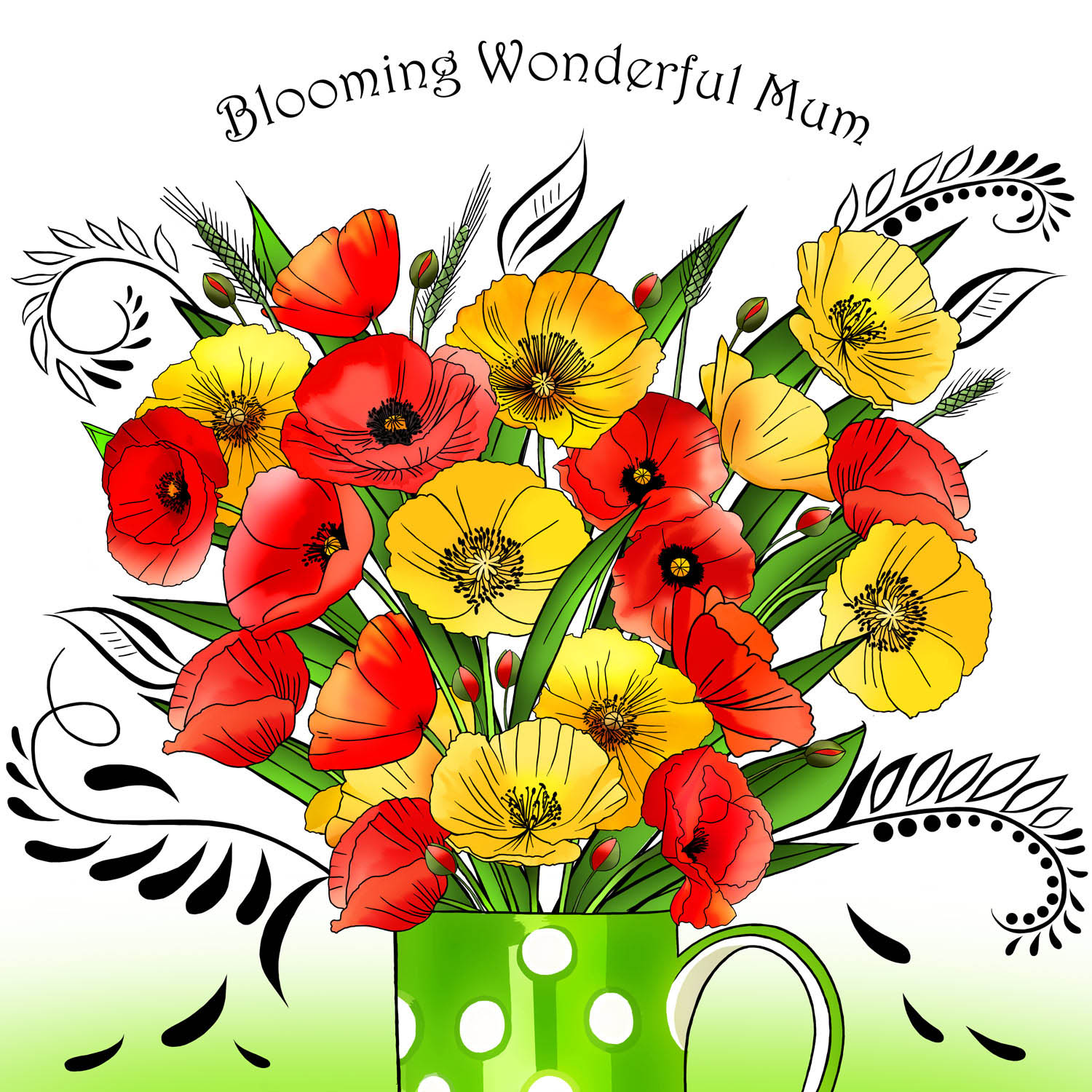 WONDERFUL MUM – Design Ref. 2661