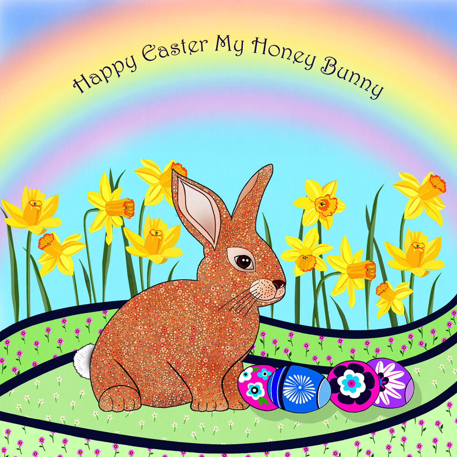 EASTER BUNNY – Design Ref. 2657