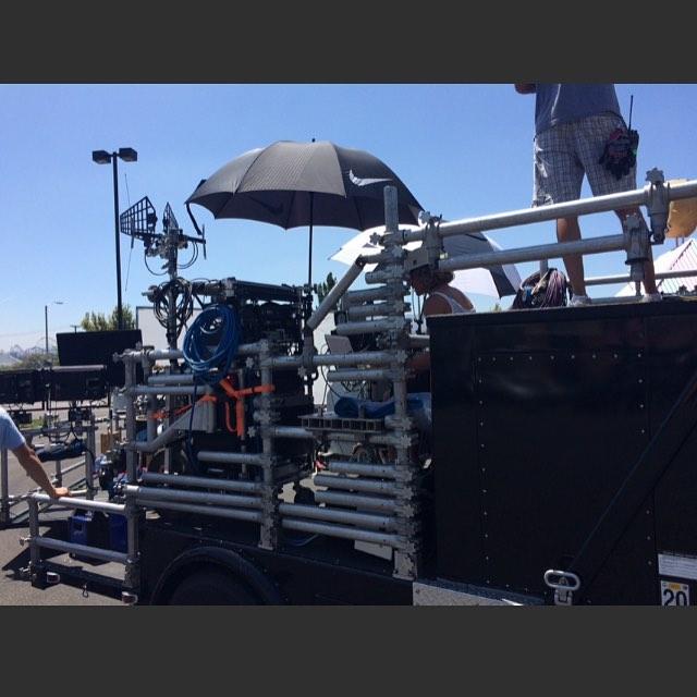 #sounddepartment #cameracar #processtrailer