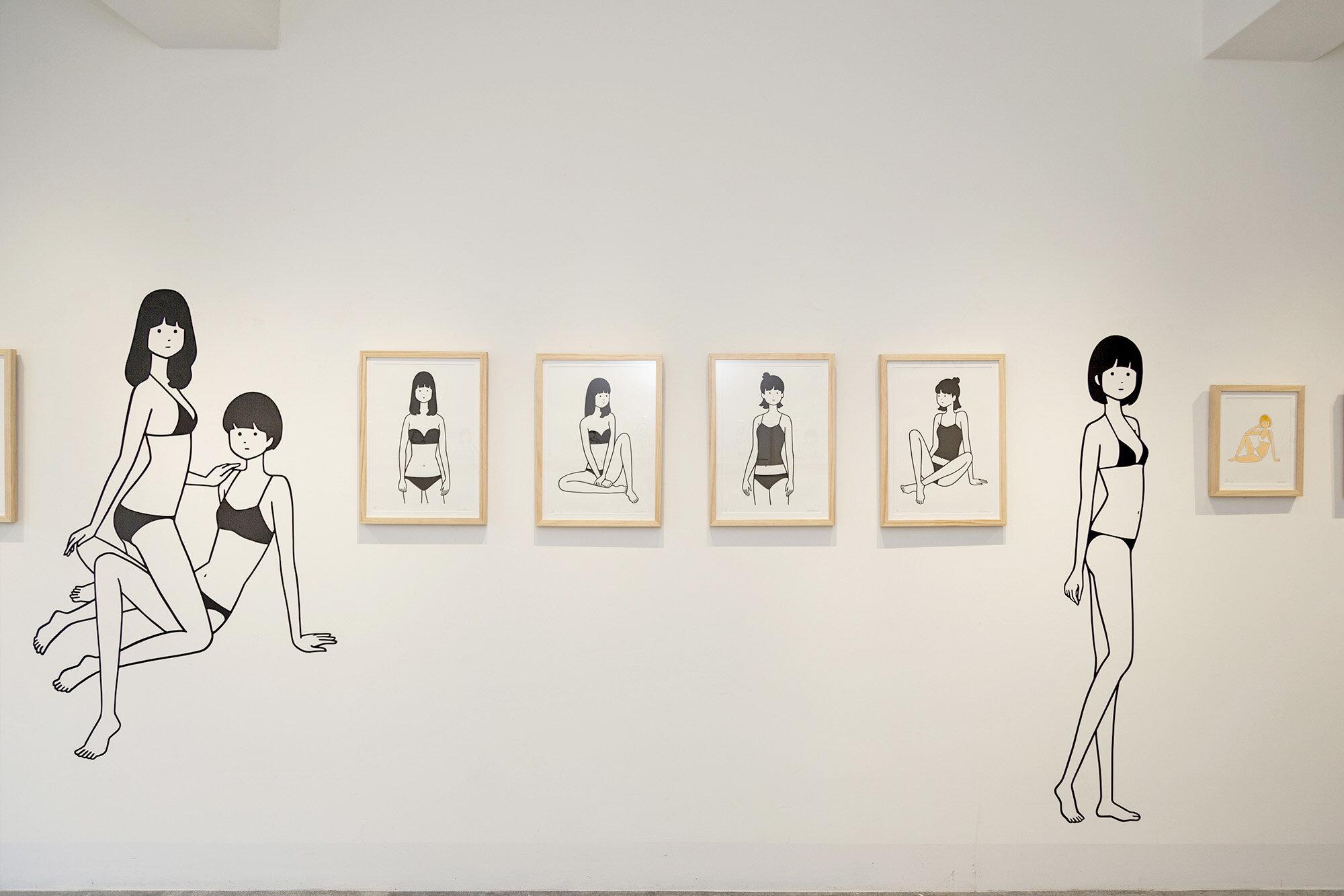 白根ゆたんぽ Yutanpo Shirane 個展