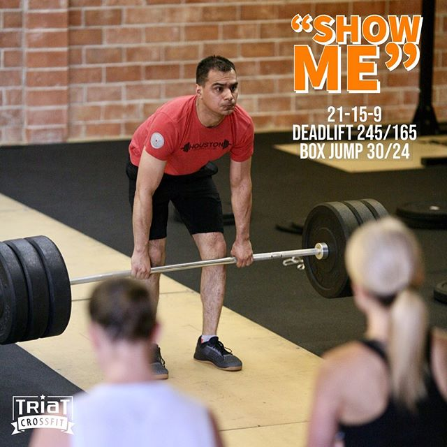 Who's looking forward to lifting heavy and jumping high ?!? #triatcrossfit #crossfit #functionalfitnessserveddaily #hamplan #bellairetx #deadlift #boxjump #jumpjumpeverybody