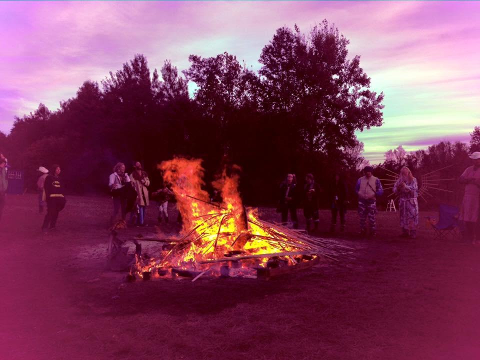 Small Art burn, Mosaic 2015