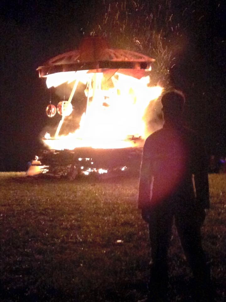 Mothership Love, Effigy Burn 2015