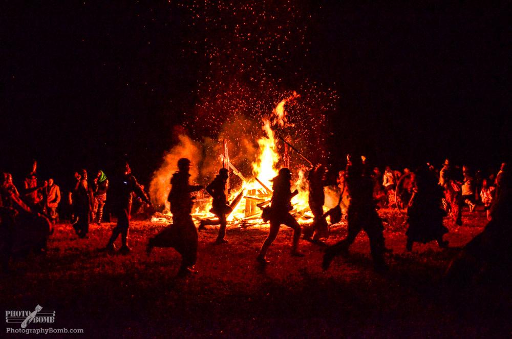 Effigy burn, Mosaic 2014