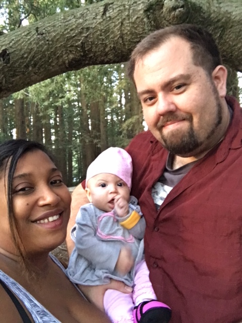 The Hasty family: Aljerice, Ruby and Bradley