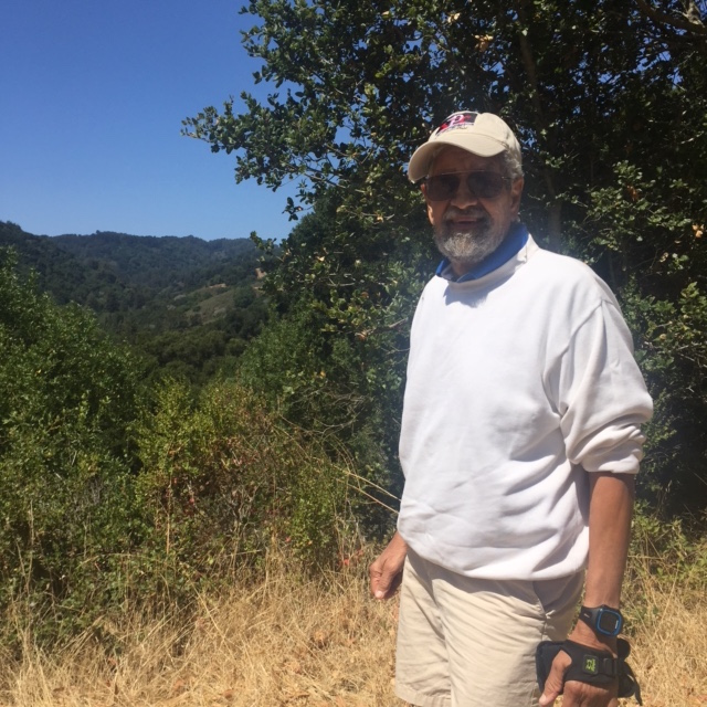 My dad and I went on a long hike a few weeks before he died. We were so happy to be together again.