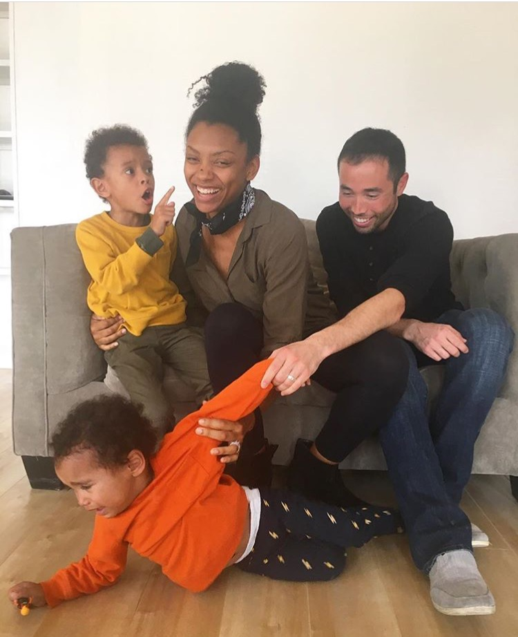 Bree Colingo and her husband, Anthony, have their hands full with their two boys Max (6) and Sebastian (2).