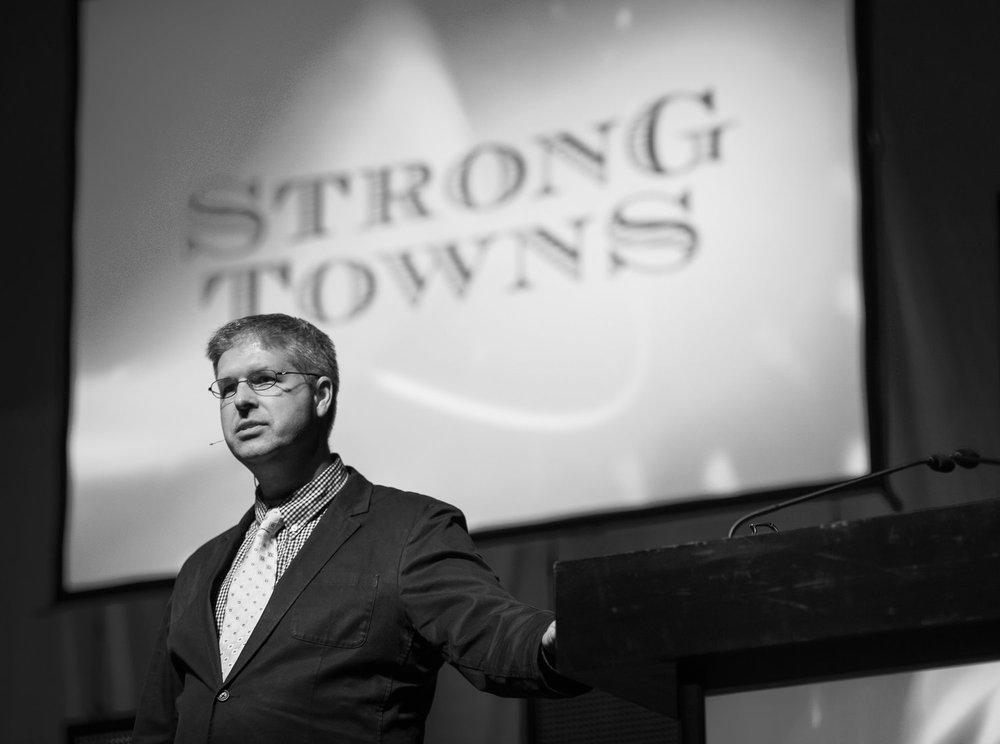 Photograph of Charles Marohn, Keynote Presenter
