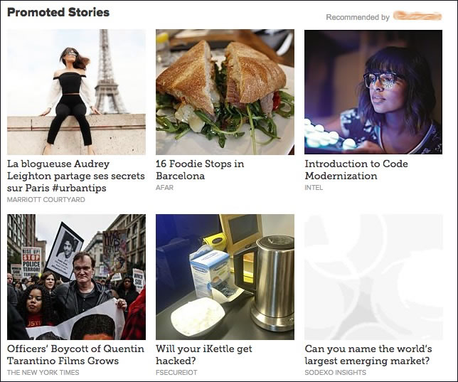 Native Advertising on lesechos.fr ... :-(