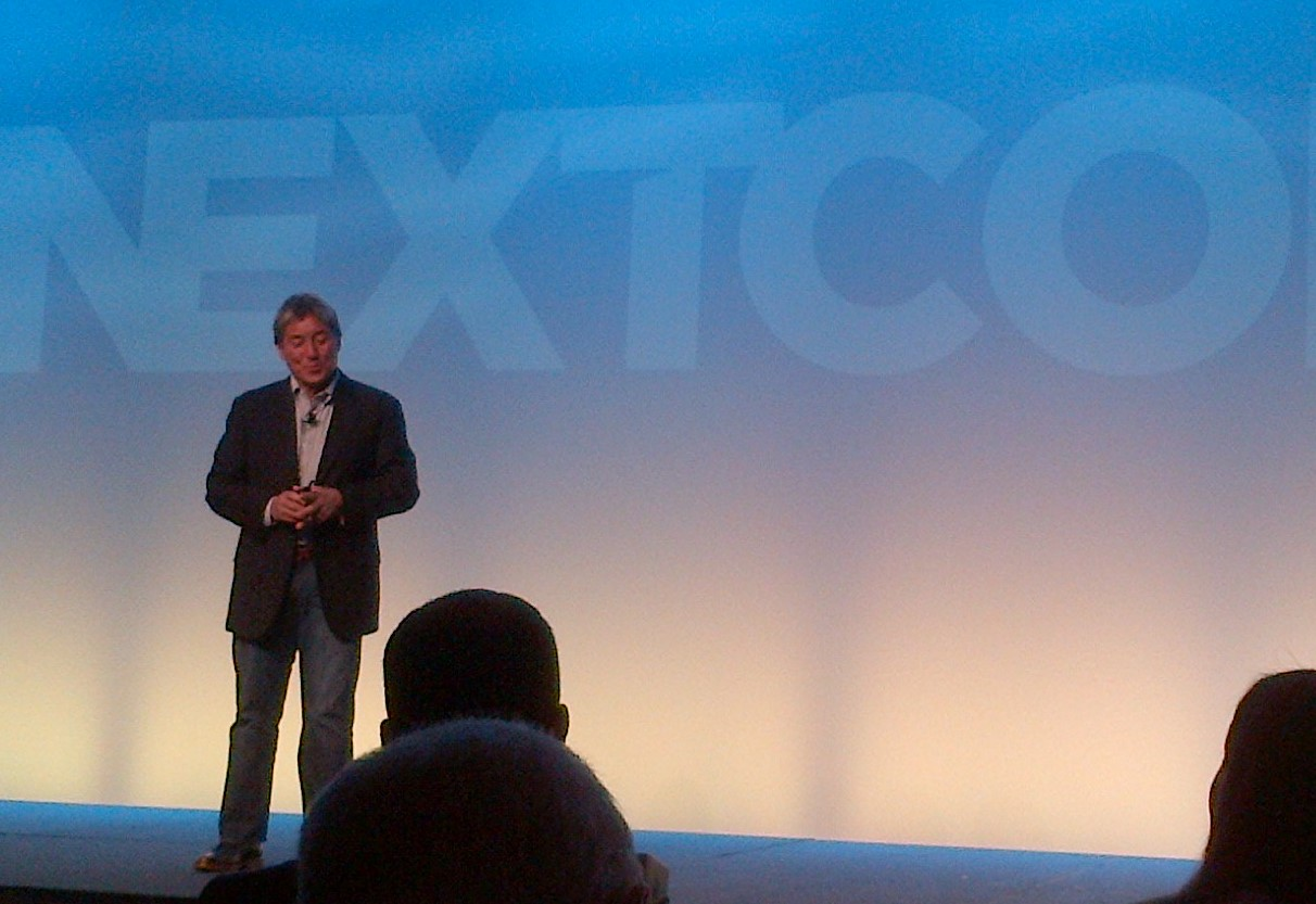 Always a treat - Guy Kawasaki. Great messaging about how to be innovative, why jumping curves is so important, and a bit about why Nextiva embodies the qualities he looks for in great companies. More on that to come.
