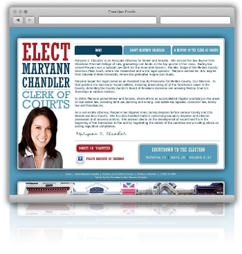 Elect Maryann Chandler Campaign Website