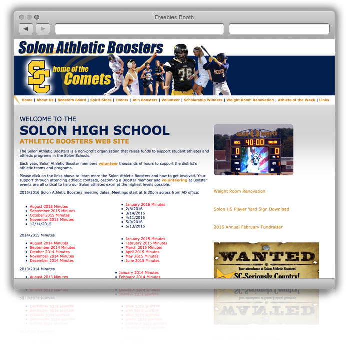 Solon Athletic Boosters