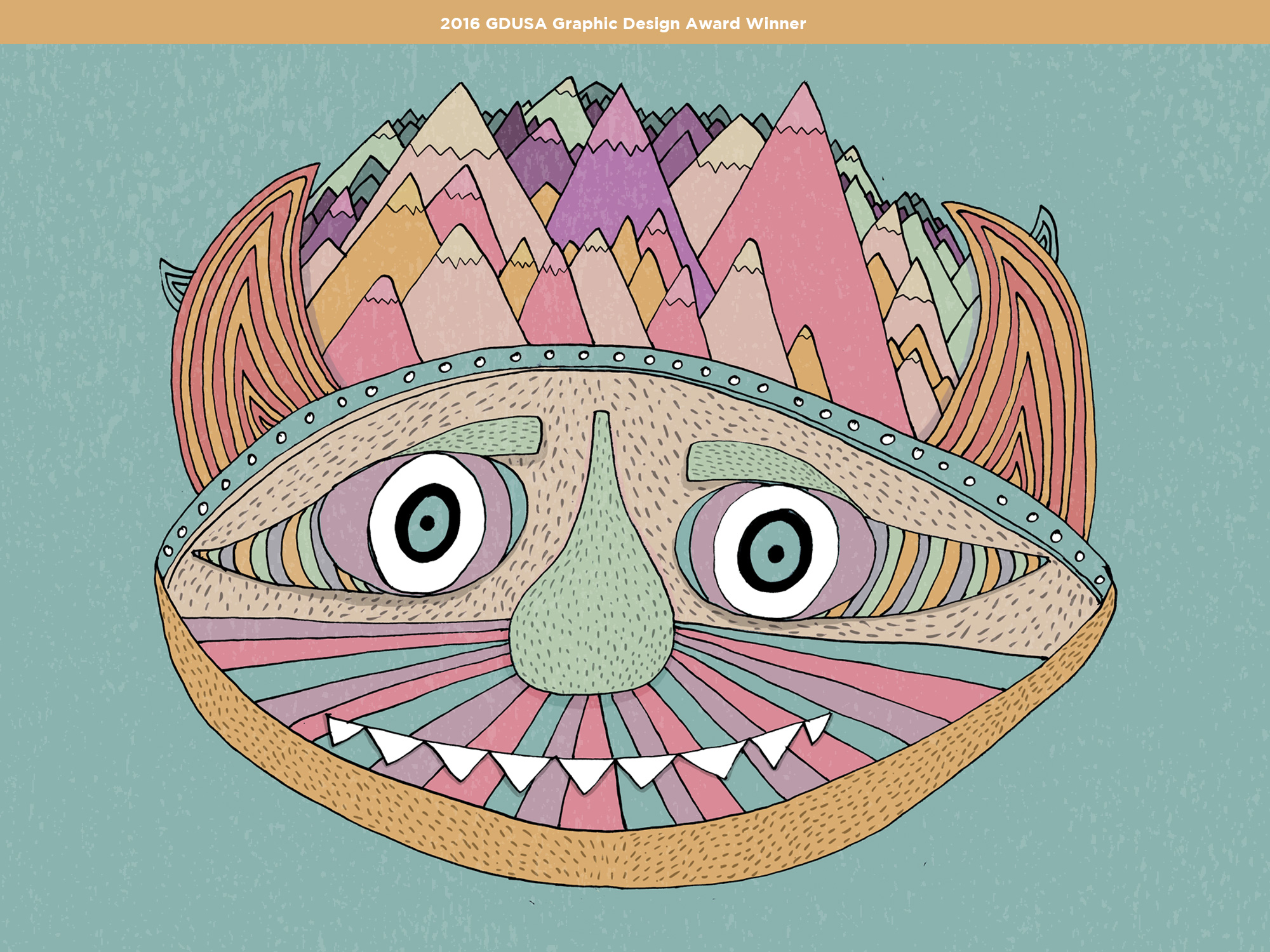 'OF MONSTERS AND MEN WORLD TOUR'    POSTER  | ILLUSTRATION