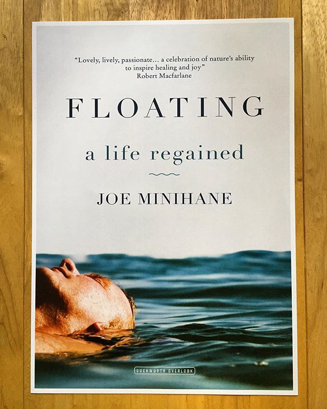 It's two years this week since Floating came out. The whole thing feels like a different lifetime ago. In that time I've become a parent, seen the book developed into an amazing film by @bencoxfilm and tried to force new ideas for a project, before relaxing and finally coming up with something I think is going to be Floating's match. — Last week, being interviewed about the book and my own swimming journey, I was asked if how I felt now, anxiety-wise. It's the first time in ages I was truly able to say I felt really good (whining about a head cold aside), thanks in no small part to swimming in the sea throughout winter. It's been quite the ride, made all the better by the support of readers who really get the book and people willing to take it into new and interesting directions on film and radio #swimming #anxiety #floating #wildswimming