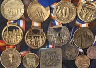 Gary has run the NYC Marathon 18 times between 1980 and 2016