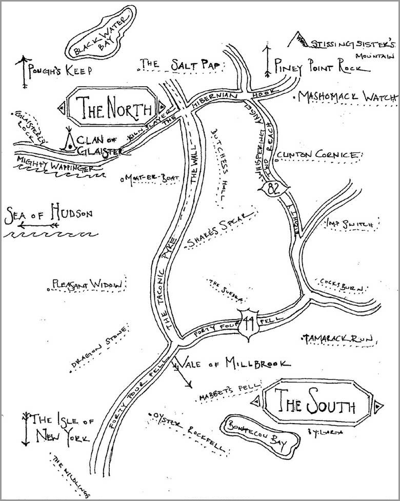 Personalized Map Stationery