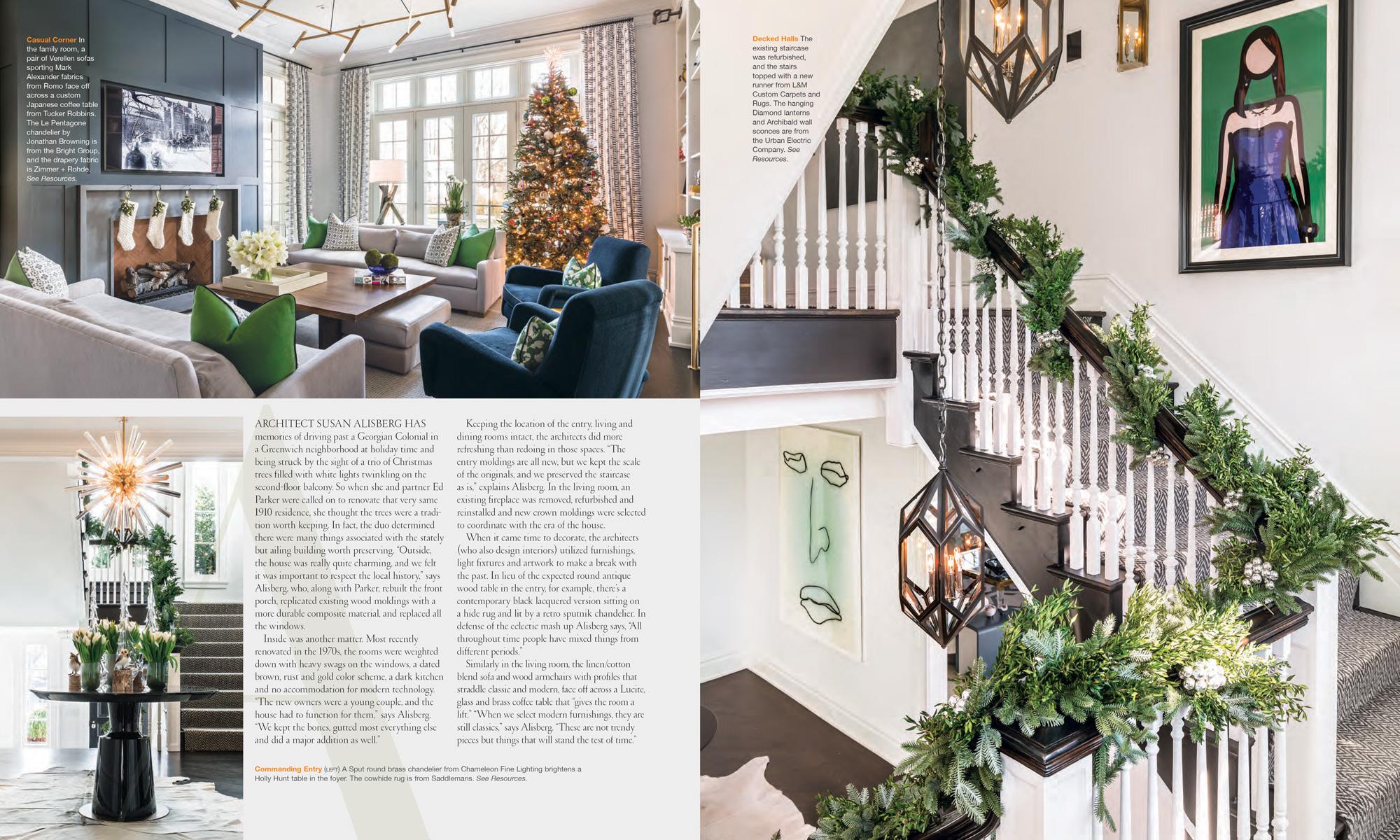CTC&G Magazine, December 2016  cottagesandgardens.com