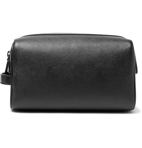 Cross-Grain Leather Wash Bag -  £280.00
