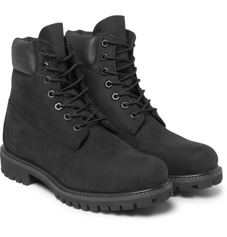 Timberland Leather Nutbuck Boots -  £170.00
