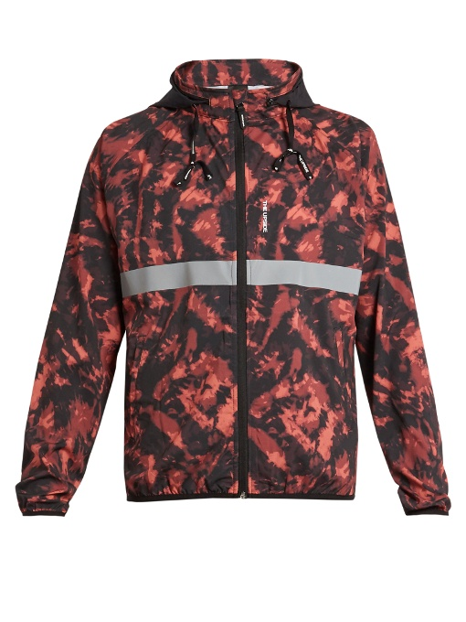 THE UPSIDE  Ultra tie-dye print running jacket -  £125.00