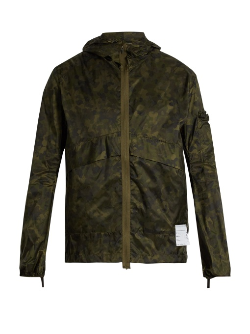 SATISFY Self-stowing shell windbreaker jacket -  £355.00