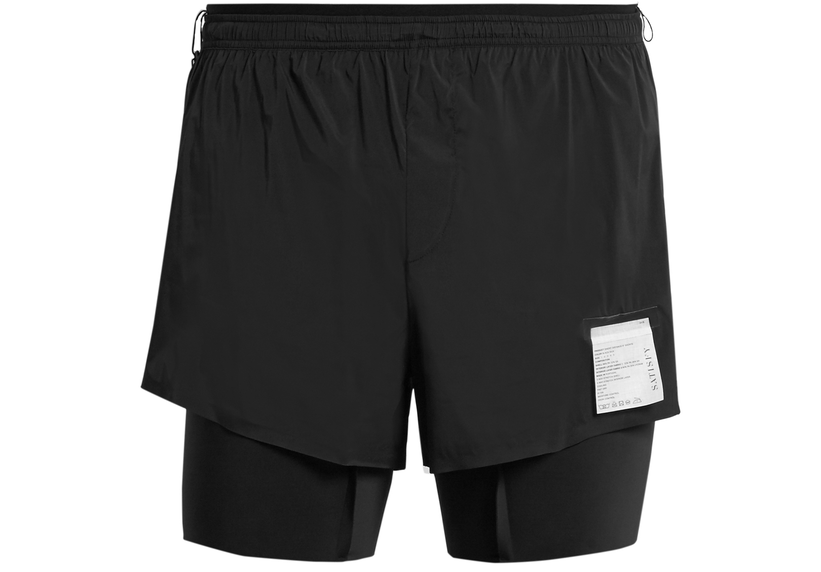 "SATISFY Short Distance 8"" shorts -  £171.00"