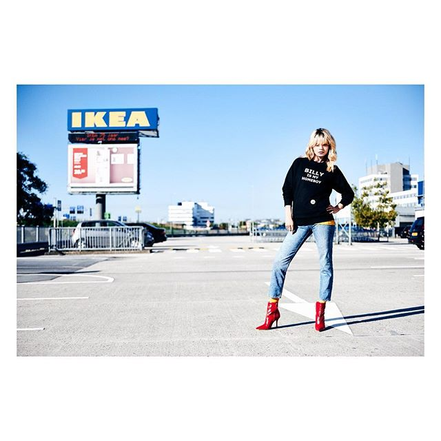 Really proud of the new collaboration with @ikeanederland for their 75th anniversary.  Photography by @kevinrijnders  Client @ikeanederland  Styling by @tessqueenie Makeup and hair by @kimverhagenmakeup #BILLYismyhomeboy #ikea #ikeanederland