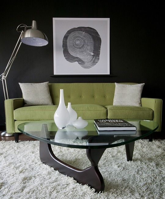 The Noguchi Coffee Table  (Photo Cred: Apartment Therapy)