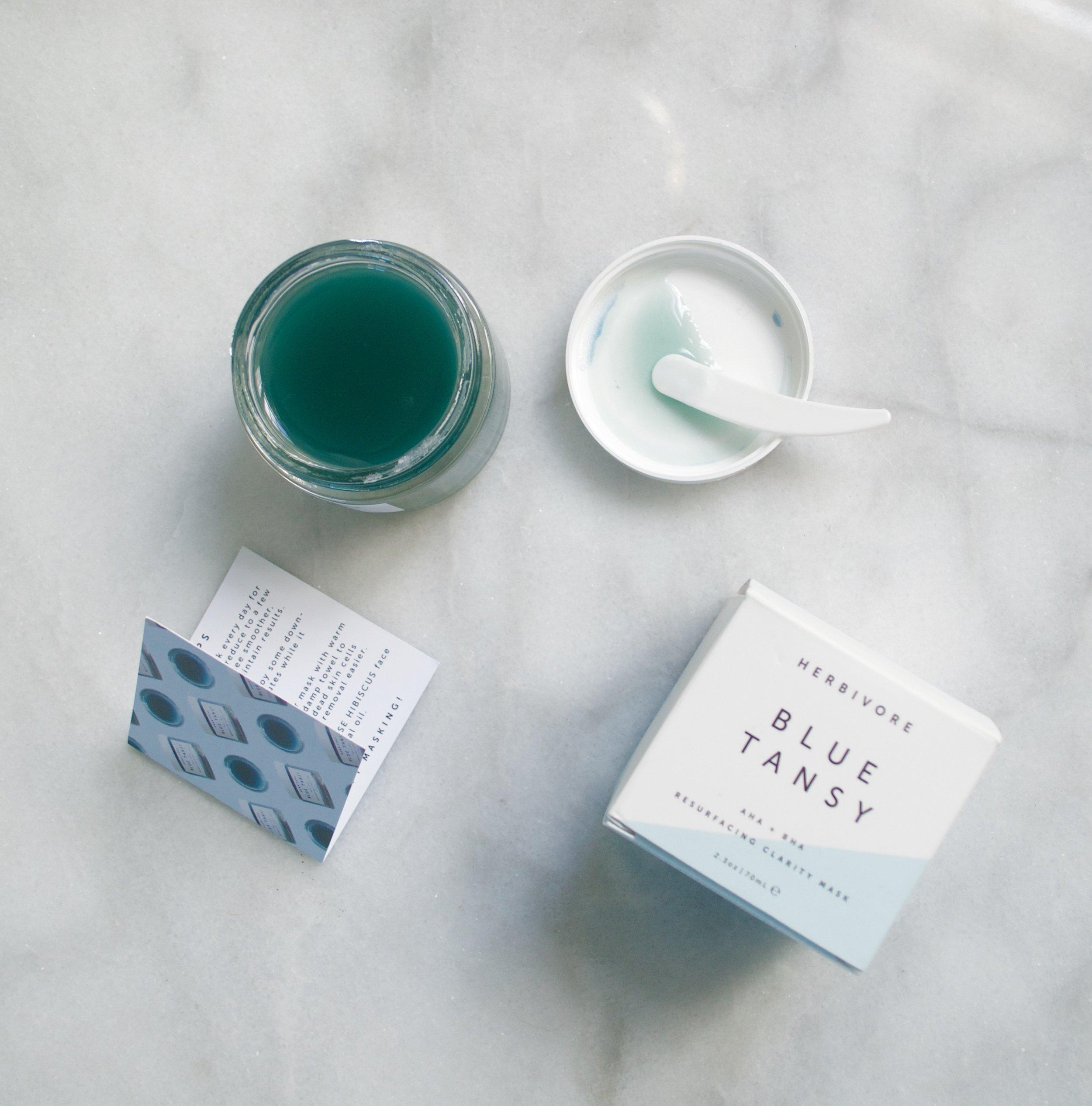 Blue Tansy Herbivore AHA BHA Resurfacing Clarity Mask