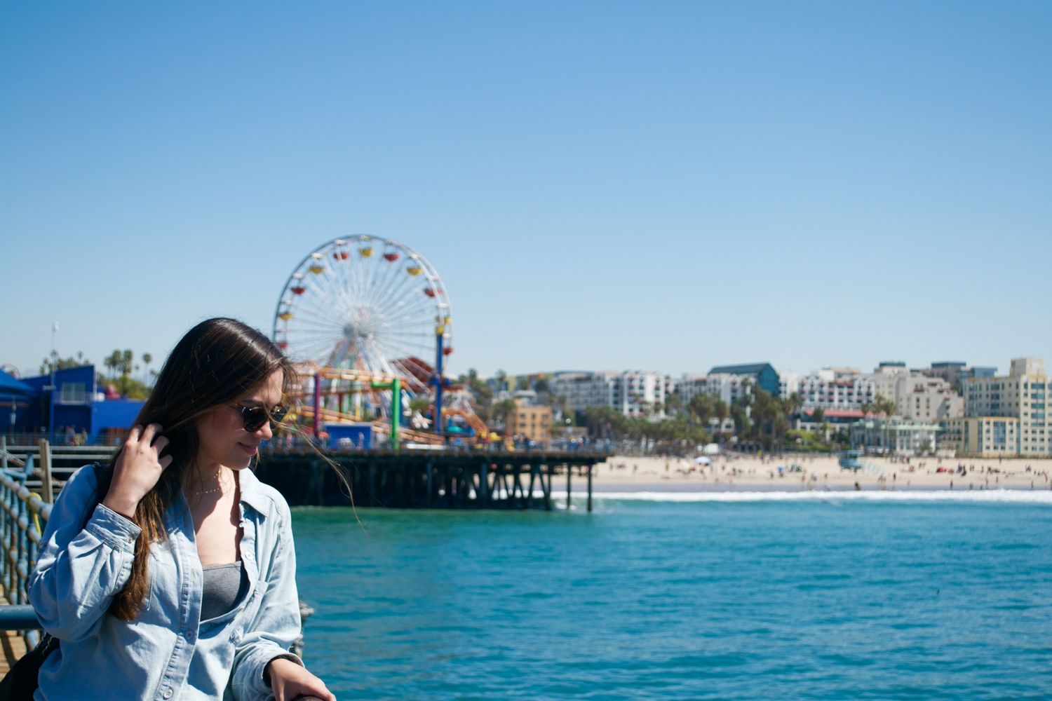 santa monica pier, california, travel tips