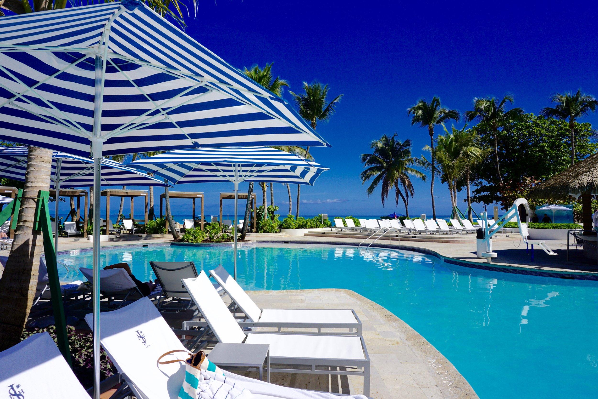 el san juan hotel pool