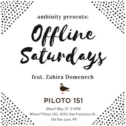 offline saturdays ambinity