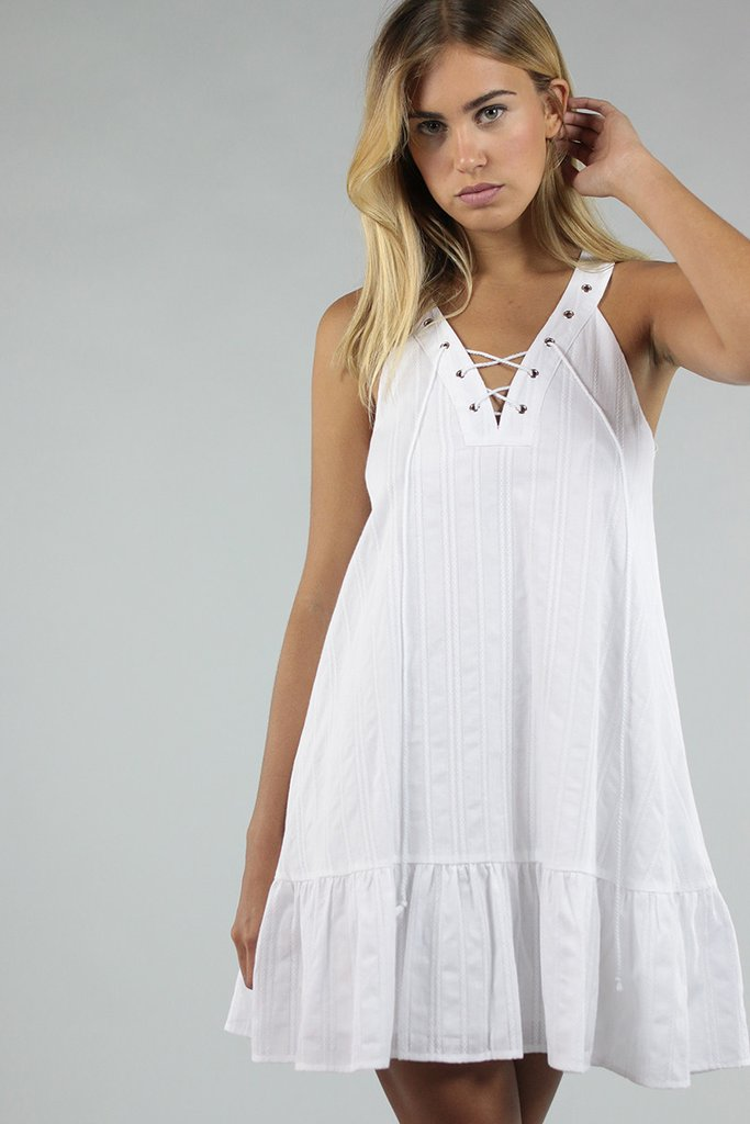 Little White Dress - $40 (was $80)