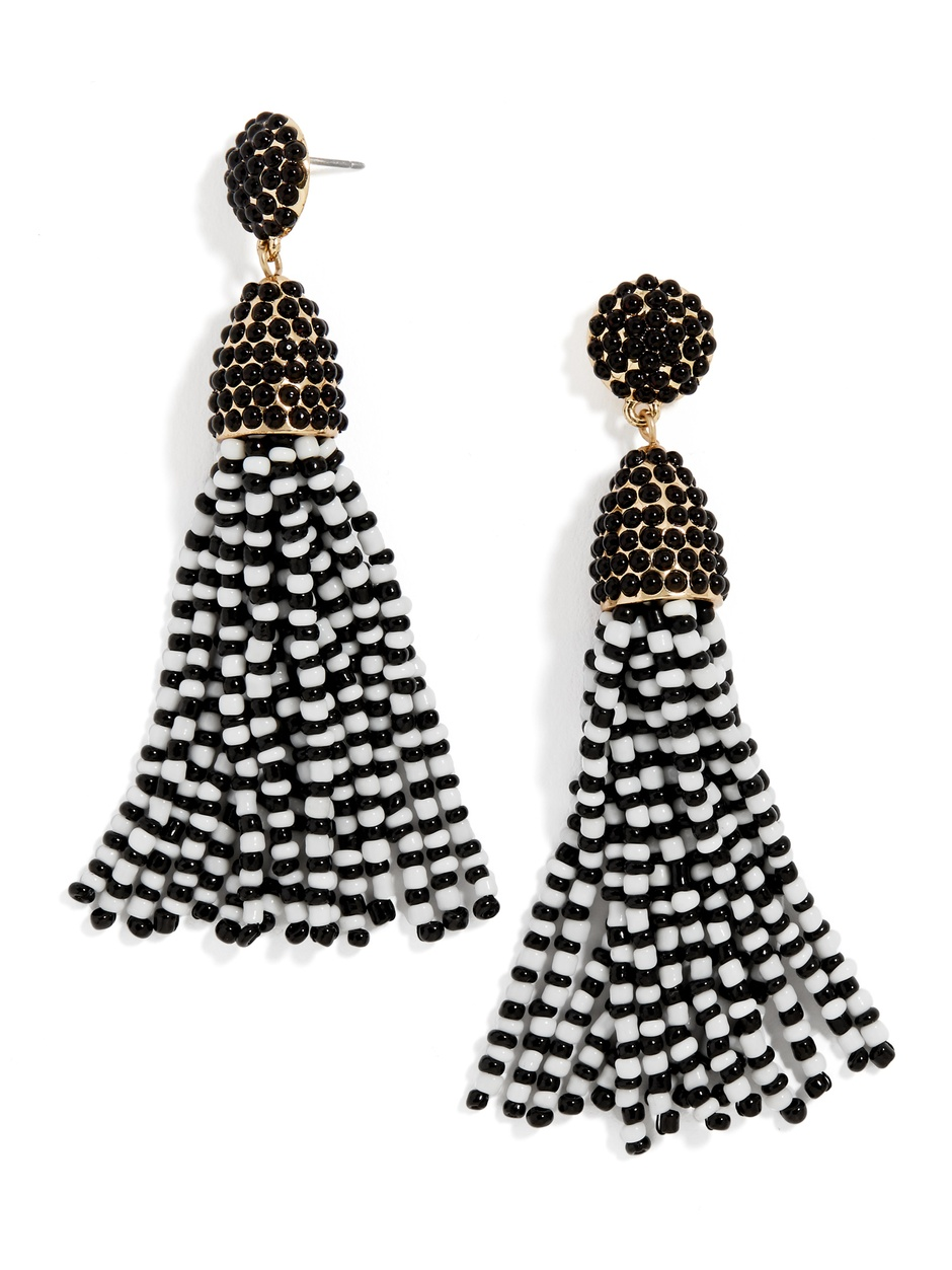 Black Tassel Earrings - $20 (was $36)