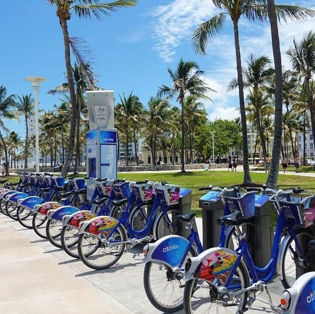 Pic via Citi Bike Miami's Instagram
