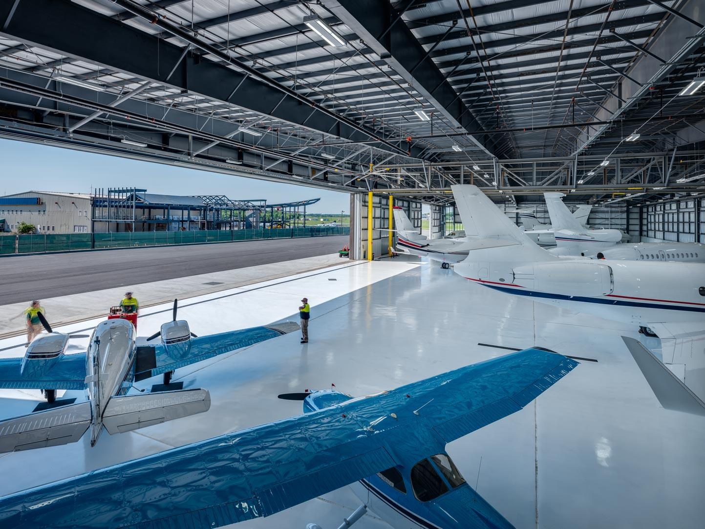 Million Air, White Plains Airport NY ▪ Jacob │White Construction TX
