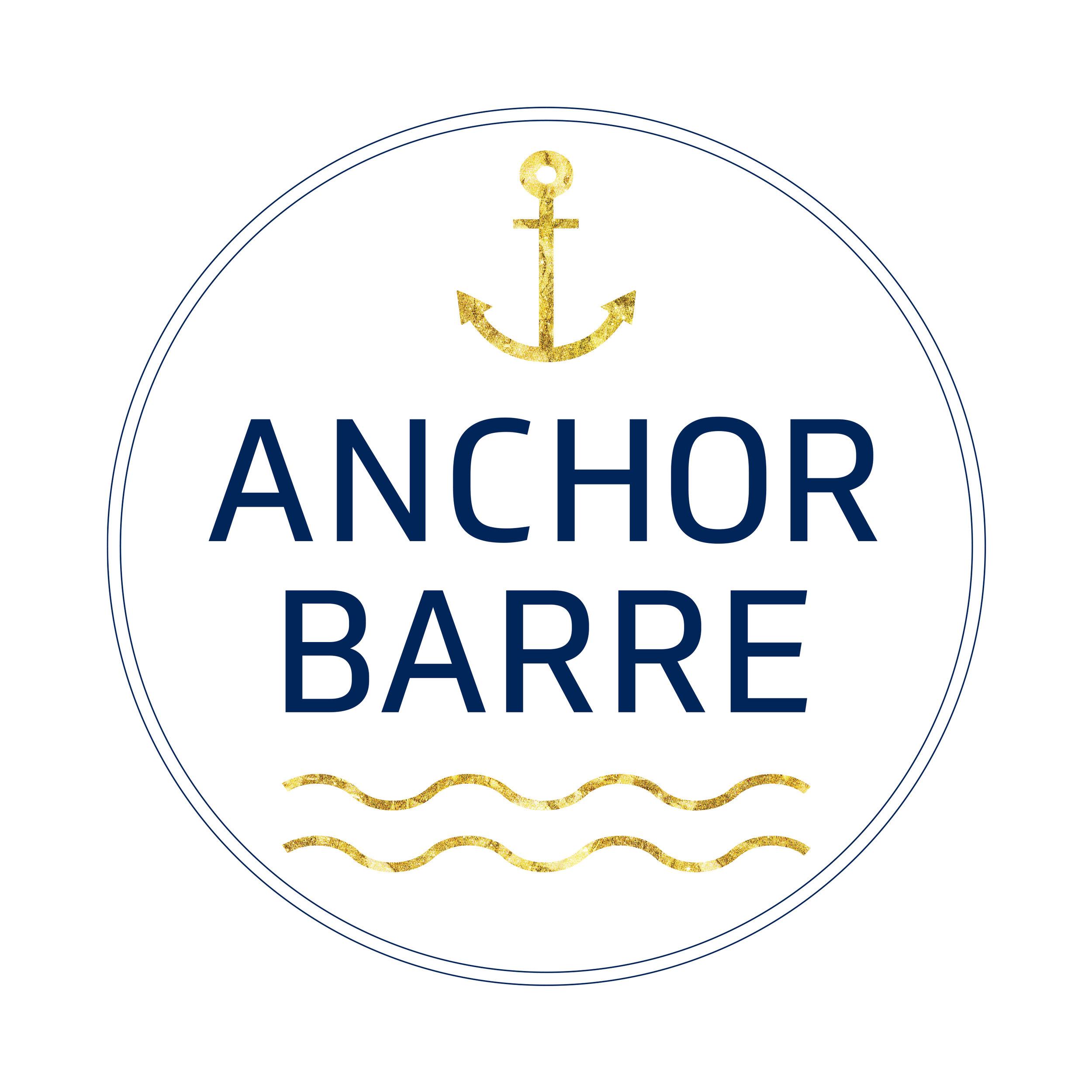 barre studio logo graphic design