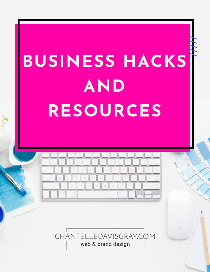 business hacks and resources
