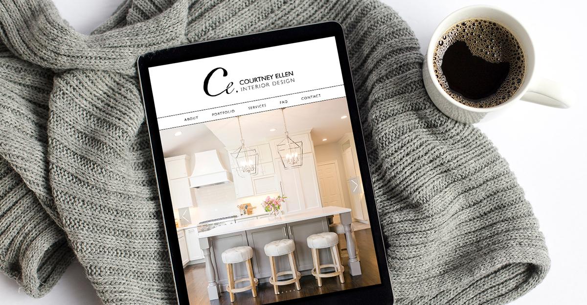 Massachusetts interior designer squarespace website