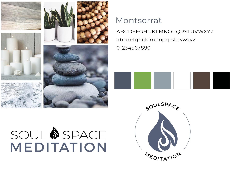 Meditation branding and website design