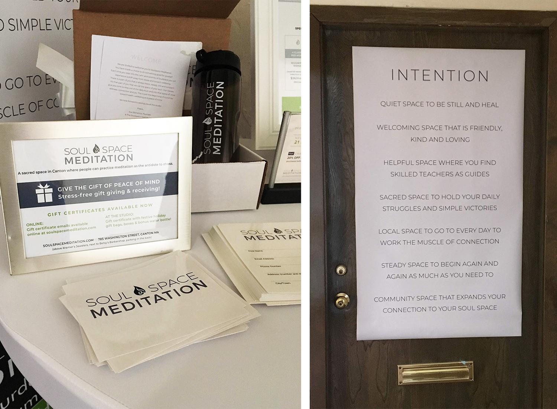 Meditation studio in Massachusetts branding & website