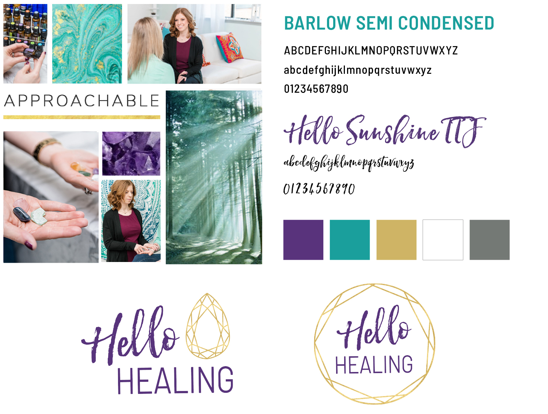 Bodytalk and holistic health branding and website design